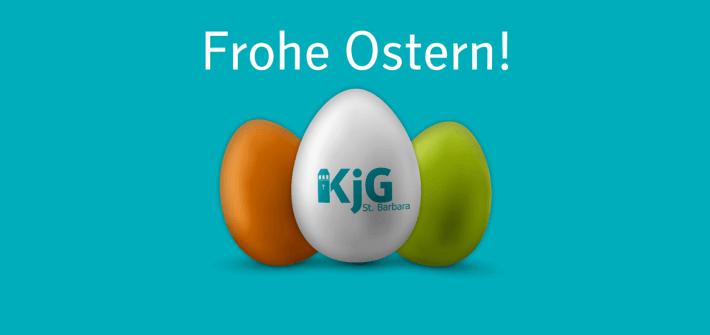 Wir wünschen allen ein frohes Osterfest!